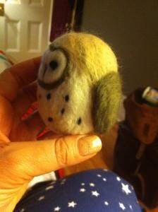 Needle-Felted Owl